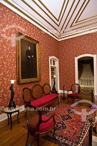 Assunto: Mobília em exposição no Museu Casa de Quissamã - antiga residência do Visconde de Araruama / Local: Quissamã - Rio de Janeiro (RJ) - Brasil / Data: 06/2013