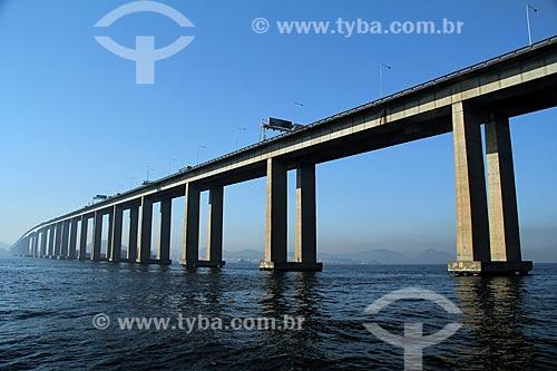 Assunto: Vista da Ponte Rio - Niterói (1974)  / Local: Rio de Janeiro (RJ)  -  Brasil / Data: 07/2013