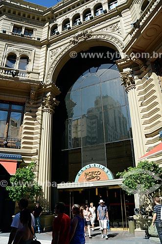 Assunto: Entrada da Galerías Pacífico (Galerias Pacífico) / Local: Buenos Aires - Argentina - América do Sul / Data: 01/2012