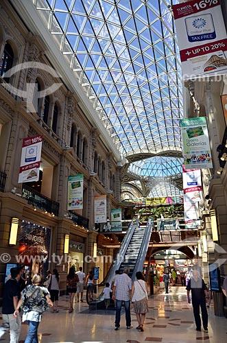 Assunto: Interior do Galerías Pacífico (Galerias Pacífico) / Local: Buenos Aires - Argentina - América do Sul / Data: 01/2012