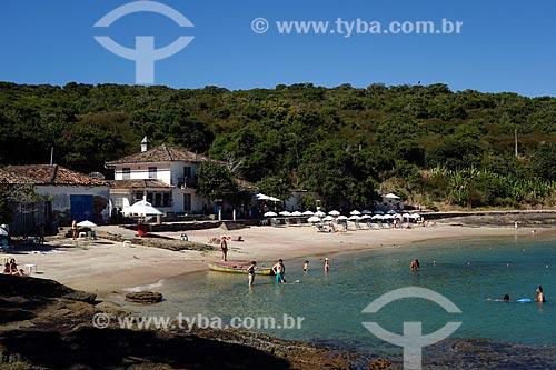 Assunto: Vista geral da Praia da Azeda / Local: Armação dos Búzios - Rio de Janeiro (RJ) - Brasil / Data: 05/2013