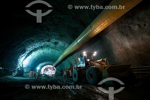 Assunto: Canteiro de obras da Via Binário do Porto - construção do Túnel da Saúde / Local: Rio de Janeiro (RJ) - Brasil / Data: 02/2013