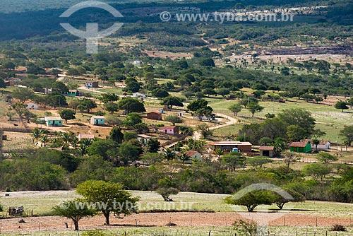 Assunto: Aldeia ou comunidade Caldeirão na Terra Índígena Kapinawá no Parque Nacional do Catimbau - Imagem licenciada -  ACRÉSCIMO DE 100% SOBRE O VALOR DE TABELA / Local: Buíque - Pernambuco (PE) - Brasil / Data: 06/2013
