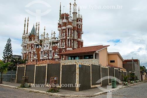 Assunto: Castelo do Torres, construído durante 20 anos por empresário da cidade / Local: Pesqueira - Pernambuco (PE) - Brasil / Data: 06/2013