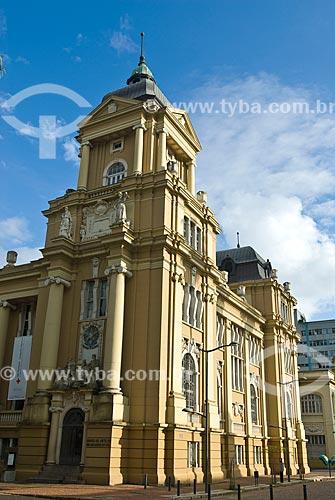 Assunto: Fachada do Museu de Arte do Rio Grande do Sul Ado Malagoli (1913) / Local: Porto Alegre - Rio Grande do Sul (RS) - Brasil / Data: 07/2013
