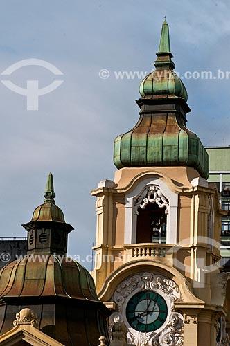 Assunto: Torre do antigo prédio do Correios e Telégrafos, atual Memorial do Rio Grande do Sul (1913) / Local: Porto Alegre - Rio Grande do Sul (RS) - Brasil / Data: 07/2013