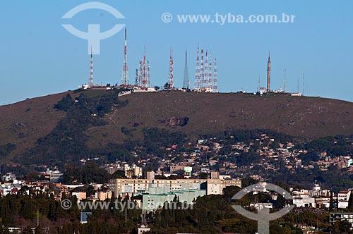 Assunto: Morro da Glória - também conhecido com Morro da Polícia ou Morro da Embratel / Local: Glória - Porto Alegre - Rio Grande do Sul (RS) - Brasil / Data: 07/2013