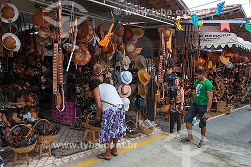 Assunto: Artesanato à venda na Feira de Caruaru Compositor Onildo Almeida / Local: Caruaru - Pernambuco (PE) - Brasil / Data: 06/2013