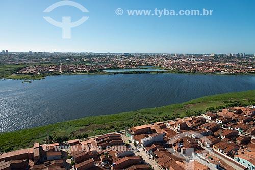 Assunto: Vista aérea da Lagoa do Opaia / Local: Fortaleza - Ceará (CE) - Brasil / Data: 06/2013