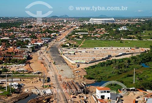 Assunto: Canteiros de obras na Avenida Alberto Craveiro - que dá acesso ao Estádio Governador Plácido Castelo (1973) - também conhecido como Castelão / Local: Fortaleza - Ceará (CE) - Brasil / Data: 05/2013