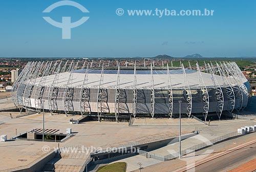 Assunto: Vista aérea do Estádio Governador Plácido Castelo (1973) - também conhecido como Castelão / Local: Fortaleza - Ceará (CE) - Brasil / Data: 05/2013