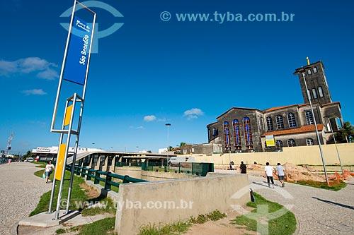 Assunto: Estação São Benedito do Metrô de Fortaleza / Local: Fortaleza - Ceará (CE) - Brasil / Data: 05/2013
