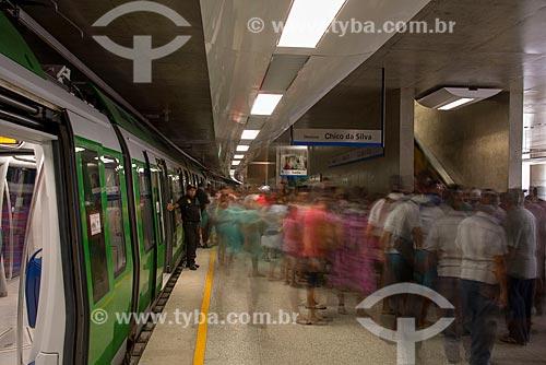Assunto: Plataforma da estação São Benedito do Metrô de Fortaleza / Local: Fortaleza - Ceará (CE) - Brasil / Data: 05/2013