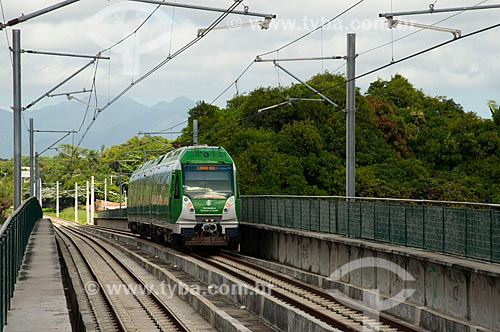 Assunto: Metrô na estação Porangaba do Metrô de Fortaleza / Local: Fortaleza - Ceará (CE) - Brasil / Data: 05/2013