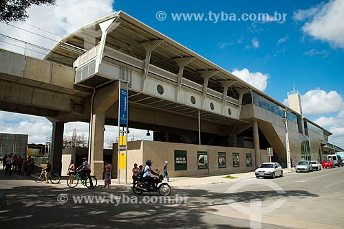 Assunto: Estação Porangaba do Metrô de Fortaleza / Local: Fortaleza - Ceará (CE) - Brasil / Data: 05/2013