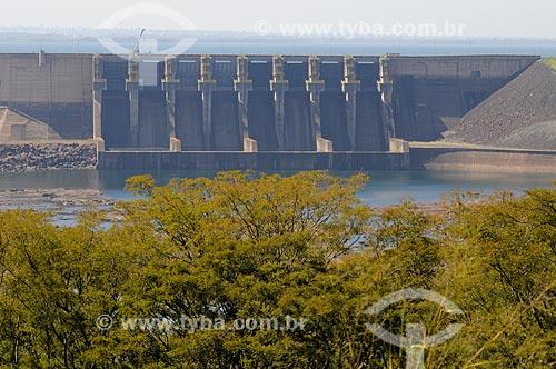 Usina Hidrelétrica de Água Vermelha - também conhecida como Usina Hidrelétrica José Ermirio de Moraes - Localizada no Rio Grande na divisa entre os estados de MG e SP entre os municípios de Iturama e Ouroeste  - Ouroeste - São Paulo - Brasil
