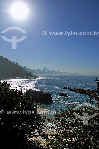 Assunto: Vista geral da Praia do Vidigal a partir do Sheraton Rio Hotel & Resort / Local: Vidigal - Rio de Janeiro (RJ) - Brasil / Data: 08/2013