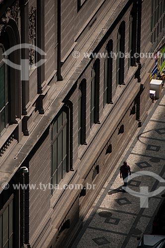 Assunto: Fachada lateral do Museu Nacional de Belas Artes (1938) - Rua Araújo Porto Alegre / Local: Centro - Rio de Janeiro (RJ) - Brasil / Data: 08/2011
