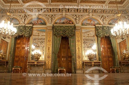 Assunto: Salão nobre do Museu da República - antigo Palácio do Catete / Local: Catete - Rio de Janeiro (RJ) - Brasil / Data: 08/2011