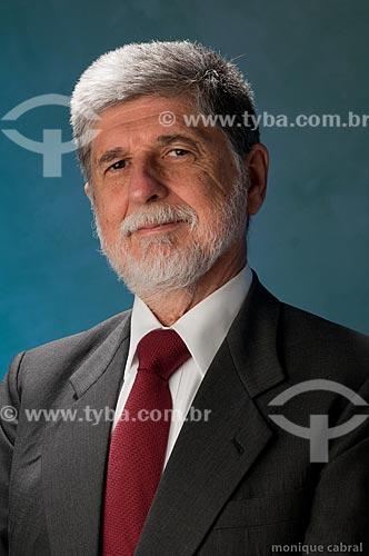 Assunto: Celso Luiz Nunes Amorim - Diplomata e Ministro / Local: Estúdio / Data: 07/2011