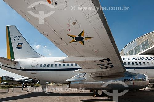 Assunto: Boeing 737 - utilizado como avião presidencial - em exposição no Museu Aeroespacial / Local: Campo dos Afonsos - Rio de Janeiro (RJ) - Brasil / Data: 08/2012