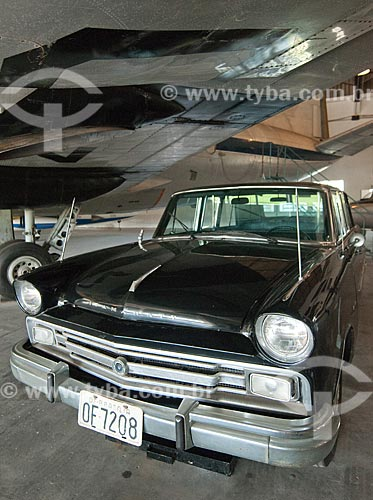 Assunto: Willys Itamaraty - utilizado como carro presidencial - em exposição no Museu Aeroespacial / Local: Campo dos Afonsos - Rio de Janeiro (RJ) - Brasil / Data: 08/2012
