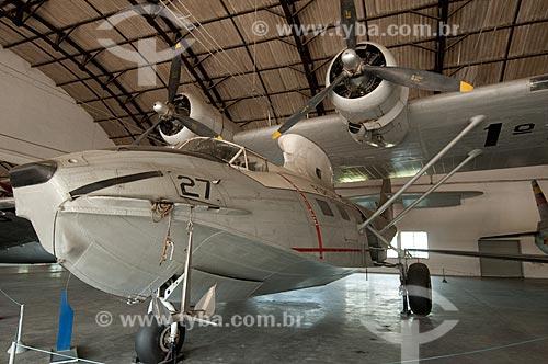 Assunto: Consolidated Vultee 28 (PBY-5A/C-10A) ?Catalina? - avião anfíbio destinado a missões de patrulha marítima - em exposição no Museu Aeroespacial / Local: Campo dos Afonsos - Rio de Janeiro (RJ) - Brasil / Data: 08/2012