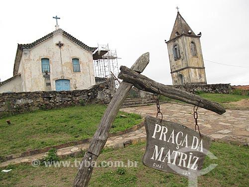 Assunto: Igreja Matriz de Nossa Senhora da Conceição de Ibitipoca (1768) / Local: Distrito de Conceição de Ibitipoca - Lima Duarte - Minas Gerais (MG) - Brasil / Data: 10/2010
