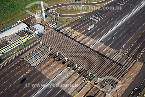 Assunto: Pedágio da Rodovia Atilio Balbo / Local: Ribeirão Preto - São Paulo (SP) - Brasil / Data: 05/2013
