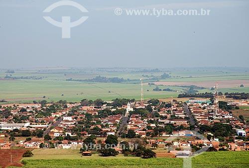 Assunto: Vista aérea de do Distrito de Ibitiúva / Local: Distrito de Ibitiúva - Pitangueiras - São Paulo (SP) - Brasil / Data: 05/2013