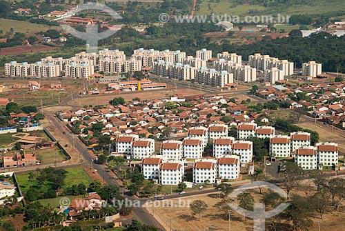 Assunto: Vista aérea de edifícios residenciais no Jardim Campo Redondo / Local: Barretos - São Paulo (SP) - Brasil / Data: 05/2013