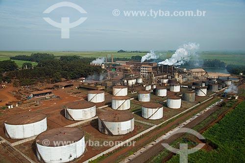 Assunto: Vista aérea da Usina Santa Elisa pertencente a Santelisa Vale (Companhia Energetica Santa Elisa) / Local: Sertãozinho - São Paulo (SP) - Brasil / Data: 05/2013