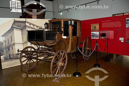 Assunto: Carruagem em exposição no Museu do Café Francisco Schmidt no campus da Universidade de São Paulo / Local: Ribeirão Preto - São Paulo (SP) - Brasil / Data: 05/2013