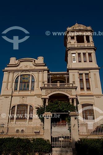 Assunto: Fachada do Palácio episcopal - residência do Arcebispo de Ribeirão Preto / Local: Ribeirão Preto - São Paulo (SP) - Brasil / Data: 05/2013