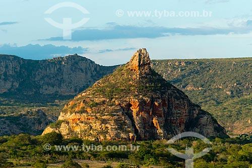 Assunto: Pedra do Cachorro no Parque Nacional do Catimbau / Local: Buíque - Pernambuco (PE) - Brasil / Data: 06/2013