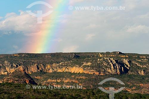 Assunto: Arco-íris no Parque Nacional do Catimbau / Local: Buíque - Pernambuco (PE) - Brasil / Data: 06/2013