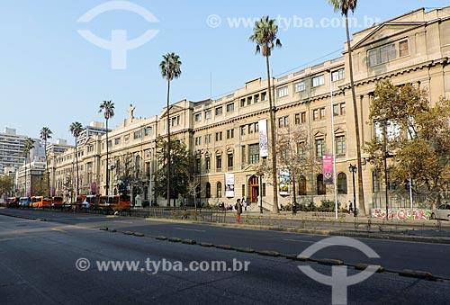Assunto: Fachada da Pontificia Universidad Católica de Chile (Pontifícia Universidade Católica do Chile) / Local: Santiago - Chile - América do Sul / Data: 05/2013