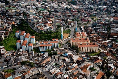 Assunto: Vista aérea do conjunto habitacional da Companhia de Desenvolvimento Habitacional e Urbano / Local: Padroeira - Osasco - São Paulo (SP) - Brasil / Data: 06/2013