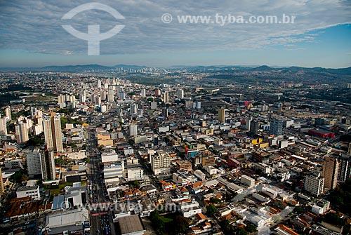 Assunto: Vista aérea do centro de Osasco - próximo à Avenida dos Autonomistas / Local: Osasco - São Paulo (SP) - Brasil / Data: 06/2013