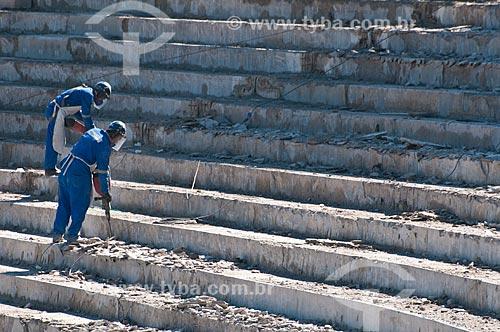 Assunto: Reforma do Estádio Jornalista Mário Filho - também conhecido como Maracanã / Local: Maracanã - Rio de Janeiro (RJ) - Brasil / Data: 07/2012