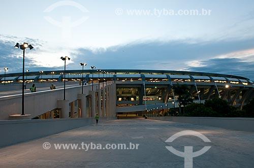 Assunto: Rampa de acesso ao Estádio Jornalista Mário Filho - também conhecido como Maracanã - Rampa do Bellini / Local: Maracanã - Rio de Janeiro (RJ) - Brasil / Data: 06/2013