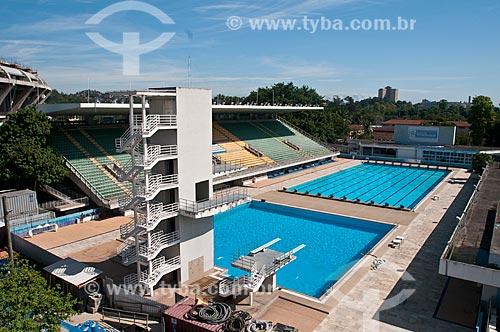 Assunto: Parque Aquático Júlio Delamare no Complexo Esportivo do Maracanã / Local: Maracanã - Rio de Janeiro (RJ) - Brasil / Data: 11/2012