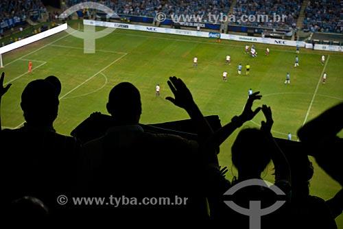 Assunto: Inauguração da Arena do Grêmio - amistoso entre Grêmio x Hamburgo (HOL) / Local: Humaitá - Porto Alegre - Rio Grande do Sul (RS) - Brasil / Data: 08/2012