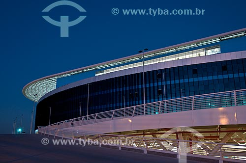 Assunto: Fachada da Arena do Grêmio (2012) / Local: Humaitá - Porto Alegre - Rio Grande do Sul (RS) - Brasil / Data: 04/2013