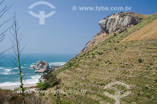 Assunto: Pedra da Tartaruga / Local: Barra de Guaratiba - Rio de Janeiro (RJ) - Brasil / Data: 08/2013