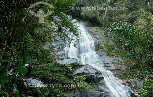 Assunto: Cascatinha Taunay na Floresta da Tijuca / Local: Rio de Janeiro (RJ) - Brasil / Data: 08/2013