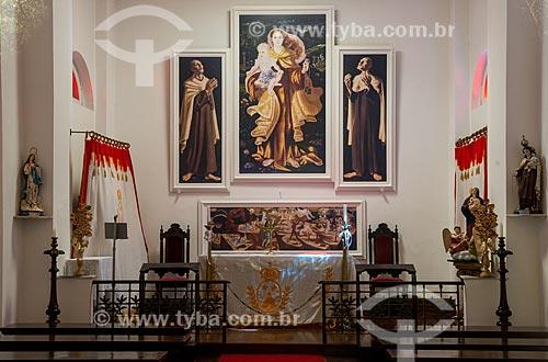 Assunto: Interior da Capela Mayrink (1985) / Local: Alto da Boa Vista - Rio de Janeiro (RJ) - Brasil / Data: 08/2013