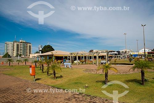 Assunto: Vista geral da Praça da Matriz / Local: Luis Eduardo Magalhães - Bahia (BA) - Brasil / Data: 07/2013