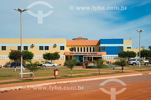 Assunto: Fachada da Escola Monteiro Lobato - Unidade 2 / Local: Luis Eduardo Magalhães - Bahia (BA) - Brasil / Data: 07/2013