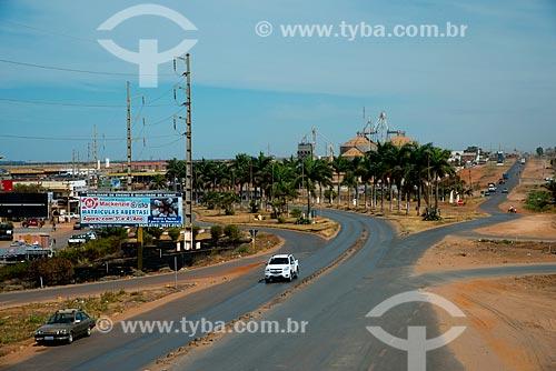 Assunto: Trevo entre as rodovias BR-242 e BR-020 / Local: Luis Eduardo Magalhães - Bahia (BA) - Brasil / Data: 07/2013